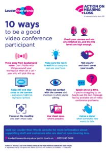 10 ways to be a good video conference participant