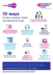 10 ways to be a good video conference host