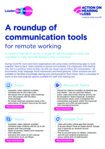 A roundup of communication tools fro remote working