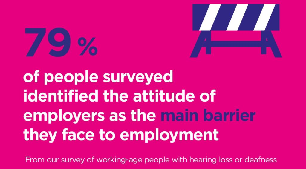 Supporting staff with hearing loss affected by COVID-19 measures