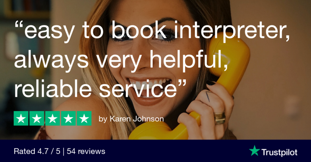 Booking a BSL interpreter